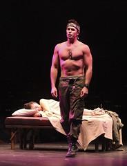 Eric Kunze as Chris and Ma-Anne Dionisio as Kim in Miss Saigon at Music Circus August 23-28. Photo by Charr Crail.