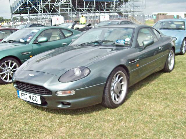 silverstone british 1990s callum astonmartin bloxham db7 p117wgo