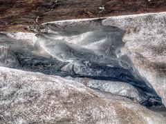 Decaying glacier