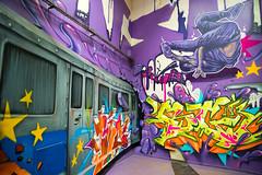 BG 183 (dprezat) Tags: street paris building art painting graffiti nikon tag peinture exposition immeuble bombe d800 fresque pochoir caserne bg183 aérosol nikond800 parishiphop