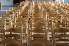 DSC_7116 (AperturePaul) Tags: church netherlands chair nikon chairs bokeh 85mm bergenopzoom d600
