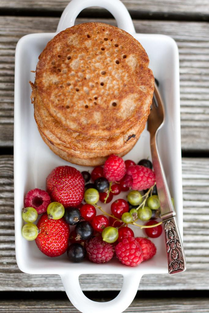 81625a5f836 Chestnut and buckwheat pancakes (gluten-free, vegan). Gluteenivabad ja  veganlikud kastani