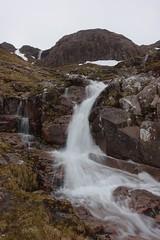 Coire nan Lochan (Sean Munson) Tags: mountains water scotland waterfall highlands hiking glencoe scottishhighlands coirenanlochan