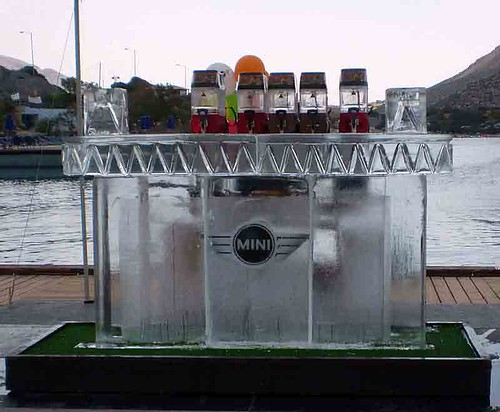 Mini Cooper Ice Bar