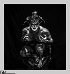 PLAYING THE FOOL (Dan Baram) Tags: portrait hawaii mask jester joker fool selfie