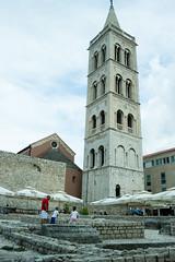 Zadar's tower (agu!) Tags: tower children ruins torre croatia nios campanile belfry ruinas lugares walls zadar zara croacia campanario muros hrvatska