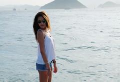 西環碼頭 (Bensun photoblog) Tags: blue sea 香港 海 風景 天空 生活 藍 西環 富士 藍天 xe1 西環碼頭 xe!