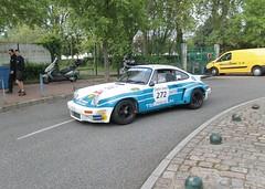 Porsche 911 RS (xwattez) Tags: old france car racecar automobile 911 voiture course german porsche transports toulouse rs ancienne 2015 vhicule tourauto allemande optic2000