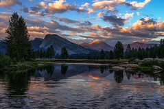 Tuolumne Sunset - Yosemite National Park (Darvin Atkeson) Tags: wallpaper mountain snow mountains fall forest river waterfall nationalpark mt osx nevada meadow lewis dana merced calm falls sierra alpine pines yosemite granite halfdome hd oaks elcapitan monolith capped tuolumne towering darvin lembert atkeson darv lynneal yosemitelandscapescom