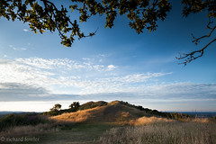 Malvern hills trail (Landmarks and Landscapes) Tags: light sunset sun landscape golden path hills ridge trail hour malvern worcestershire beacon