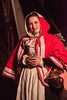 Red Cloak at Night (MorganDonner) Tags: red century dress sca apron riding hood 16th garb