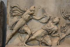 Sculpture from the Mausoleum of Halicarnassus, ca. 350 BCE (1) (Prof. Mortel) Tags: london mausoleum britishmuseum halicarnassus