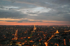 Bonsoir (Latitude13) Tags: travel sunset paris france cityscape eiffeltower toureiffel