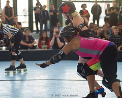 oak_vs_resist_L3500447 1 (nocklebeast) Tags: ca usa rollerderby rollergirls richmond skates bayareaderbygirls badg oaklandoutlaws richmondwreckingbelles va0001991072 effectivedateofregistrationaugust152015 va1991072