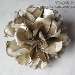 Acceptance  (K16053) (Origami Spirals) Tags: curler paper fold twirl origami burczyk folding art krysbur