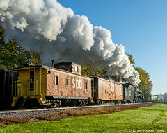 Switching Moves at Fox Lake (kdmadore) Tags: steamlocomotive steam soo1003 soo train railroad wisconsinsouthern wsor mikado sooline steamengine