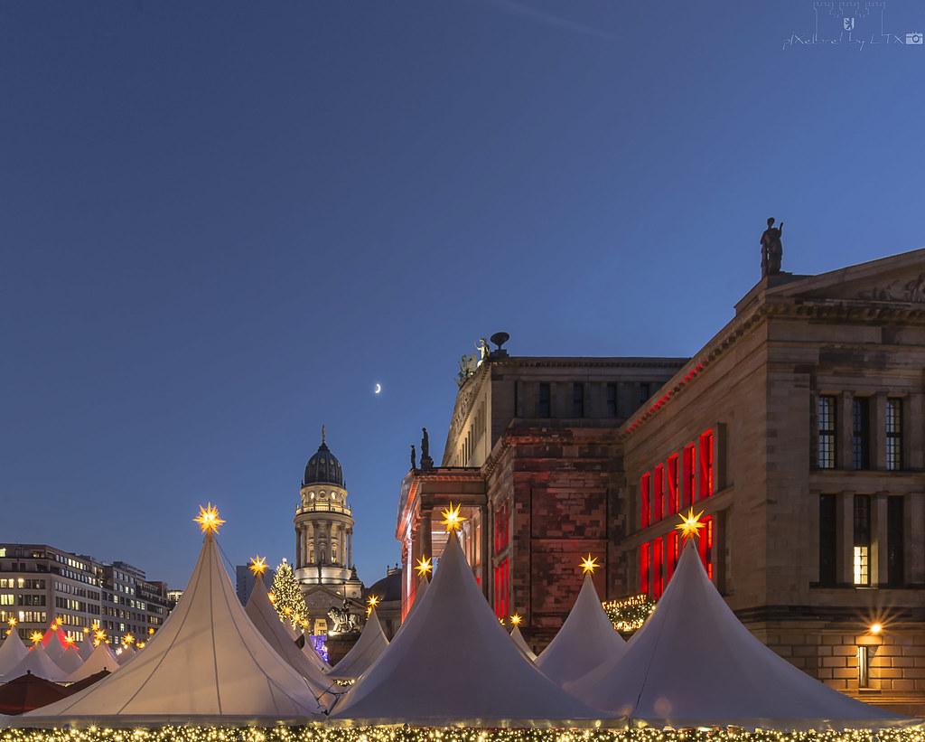 the world 39 s best photos of gendarmenmarkt and weihnachten. Black Bedroom Furniture Sets. Home Design Ideas