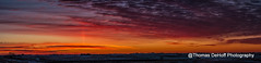 Sunrise 12-30-16 (Thomas DeHoff) Tags: sunrise winter iowa sony a700 panorama