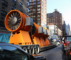 A large drill? (vetaturfumare - thanks for 2 MILLION views!!!) Tags: drill powertool tunnel boring 2nd avenue subway mta construction equipment nyc manhattan yellow traffic ues