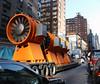 A large drill? (vetaturfumare - thanks for 3 MILLION views!!!) Tags: drill powertool tunnel boring 2nd avenue subway mta construction equipment nyc manhattan yellow traffic ues