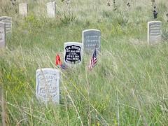 Little bighorn battlefield 23-6-2004 (Bas van Oorschot) Tags: custer battlefield gravestones