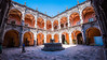 2016 - Mexico - Querétaro - Museo de Arte de Querétaro (Ted's photos - For Me & You) Tags: 2016 cropped mexico queretaro santiagodequeretaro tedmcgrath tedsphotos tedsphotosmexico vignetting nikon nikonfx nikond750 cans2s fountain arches courtyard unesco unescoworldheritagesite
