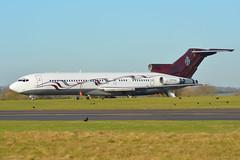 M-FTOH Boeing 727 EGBP 4/12/16 (David K- IOM Pics) Tags: m0ftoh b727 boeing 727 egbp kemble cotswold airport