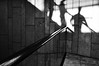 (formwandlah) Tags: kaiserslautern k lautern shopping center mall einkaufszentrum street photography rolltreppe escalator urban city noir dark strange melancholic melancholisch sureal bizarr skurril abstrakt abstract darkness light bw blackwhite black white sw monochrom high contrast ricoh gr pentax formwandlah thorsten prinz einfarbig surreal architecture architektur tower turm babel hochhaus rathaus finsternis dramatic sky wolken düster outdoor minimalismus schärfentiefe gebäude clouds lines silhouette silhouettes himmel shadow shadows schatten melancholie melancholia silhouetten schattenspiel