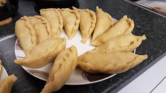 Pastry sealed and waiting for oil (Donald Morrison) Tags: argentina southamerica pablo empanada