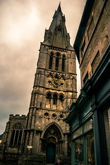 Moody church (Northern.Exile) Tags: lincolnshire stamford church nikon d3300 1855mm uk architecture beautifulbuildings historic historicchurch streetphotography moodyskies clouds cloudporn amateurphotography digital photosofbritain visitengland