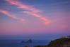 Winter lights (Jaime GF) Tags: landscape seascape island clouds pink blue sea coast cliff paisaje nubes rosa azul costa isla mar acantilado gozón asturias spain nikon d40