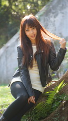 DSC01536 (rickytanghkg) Tags: 70210mm minolta sony a7ii sonya7ii a7m2 hongkong young woman pretty lady cute girl beautiful beauty belle female model asian chinese outdoor portrait