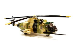 HH-3E Jolly Green Giant(1) ([Maks]) Tags: lego helicopter sikorsky vietnam war military minifig scale army air force united states rotor hh3 h3 s61 sea king search rescue combat moc hh3e jolly green giant