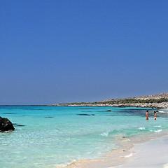 Beach of Eden - Kedrodasos (pom.angers) Tags: panasonicdmctz3 2010 july kedrodasos elafonisi crete greece europeanunion mediterraneansea naked nude beach nudism naturism eden people 100