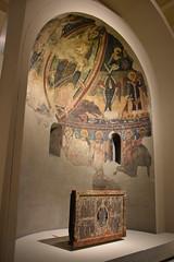 Absis i Frontal d'altar de Sant Pau d'Esterri de Cardós (esta_ahi) Tags: mnac barcelona spain españa испания pintura románico romànic romanesque santpau esterridecardós valldecardós pallarssobirà