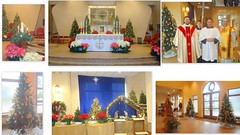 """TO ALL SHUTINS.  THE PICTURES DO NOT FULLY CAPTURE THE BEAUTIFUL DECORATED  CHURCH AND NARTHEX.   THANKS TO ALL WHO HELPED TO MAKE THE CHURCH  A FITTING SETTING FOR THE CHRISTMAS MASSES.  IF YOU WOULD LIKE A COPY OFTHE MONTAGE, PLEASE CALL 330-622-4775. • <a style=""""font-size:0.8em;"""" href=""""http://www.flickr.com/photos/98129408@N05/31856218756/"""" target=""""_blank"""">View on Flickr</a>"""