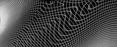 Eddies in the space-time continuum. (stuant63) Tags: flux waves spacetime reflection mylar distorted net grid entangled distortion quantum magnetism gravity gravitational magneticfield forcefield fieldlines blackandwhite web
