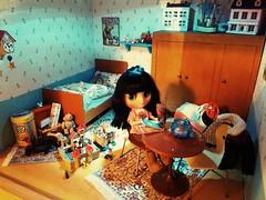 Kimi  in her room