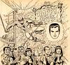 Mighty Marvel Calendar for 1975, illustration by John Romita, Sr. (Tom Simpson) Tags: mightymarvelcalendarfor1975 illustration johnromita johnromitasr art comics comicbook spiderman maryjanewatson jjonahjameson happynewyear newyear newyears 1975 1970s marvelcomics