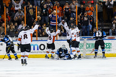 "Missouri Mavericks vs. Wichita Thunder, January 7, 2017, Silverstein Eye Centers Arena, Independence, Missouri.  Photo: John Howe / Howe Creative Photography • <a style=""font-size:0.8em;"" href=""http://www.flickr.com/photos/134016632@N02/32210096756/"" target=""_blank"">View on Flickr</a>"