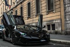 Black SuperVeloce! (David Clemente Photography) Tags: lamborghini aventador lamborghiniaventador aventadorsv sv superveloce supercars hypercars v12 aventadorroadster aventadorlp7504 italiancars italiansupercar italianhypercars
