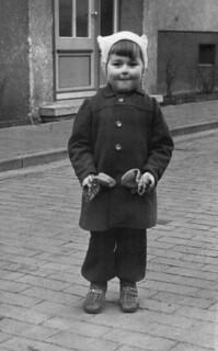 Walterchen ausgebüxt mit ungefähr 3 Jahren.