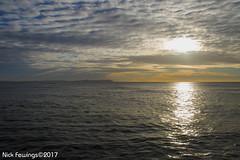 January Sunrise (Nick Fewings 4.5 Million Views) Tags: sea clouds sky blue orange reflection sunrise dorset bournemouth avon beach nickfewings canoneos7dmarkii landscape nature natural wow amazing stunning beauty beautiful