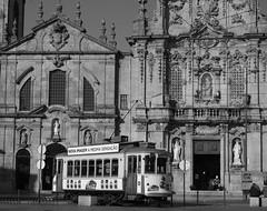 Porto (Jean (tarkastad)) Tags: tarkastad portugal tramway tram streetcar lrt lightrail eléctricos