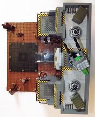 DSCF2243 (Nilbog Bricks) Tags: star wars lego moc minifigures stormtrooper base barracks