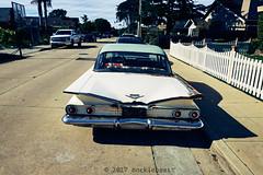 the car. the basketball hoop. the white picket fence. (nocklebeast) Tags: nrd car scphoto santacruz ca carl2070570