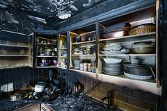 OBRE-utbrent-kjøkken-Rustad-2 (oslobrannogredning) Tags: kjøkkenbrann tørrkok bygningsbrann brann brannskader utbrent komfyr koketopp matlaging