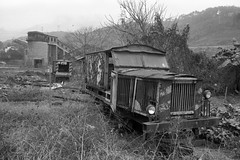 abandoned colliery (liyangzao) Tags: film fe foma fomapan200 nikkor nikon nikonfe 28mm 35mm epson epson4490 chongqing china bw d76 analog train locomotive railway