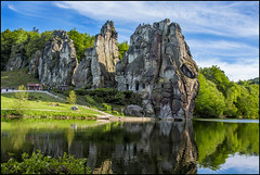 Externsteine - one of the most mysterious places in Germany (angelofruhr) Tags: externsteine
