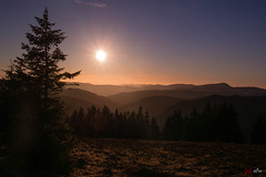 Sonnenuntergang am Feldberg 6